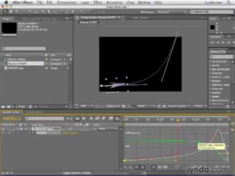 tutorial edit video adobe after effect adobe after effects cs4 tutorial 92 graph editor youtube