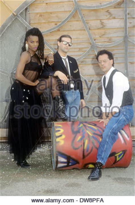1990s house music black box italian house music group with katherine quinol stock photo royalty free