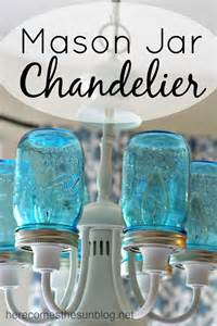 how to make a jar chandelier jar chandelier here comes the sun