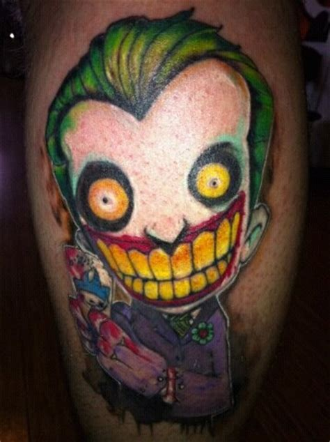 batman tattoo haha the joker batman joker tattoo tats pinterest