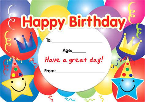 happy birthday template free happy birthday gift certificate template free reference