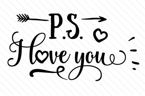 ps i you ps i you svg cut file by creative fabrica crafts