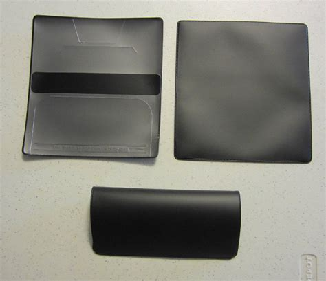 black vinyl cover 1 new black vinyl checkbook cover with duplicate flap