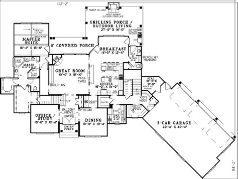 home theater floor plans home theater plus bonus room 59990nd architectural