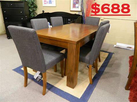 Walker Furniture Outlet by Hannin Table 6 Chairs Was 1275 Clearance Price 688