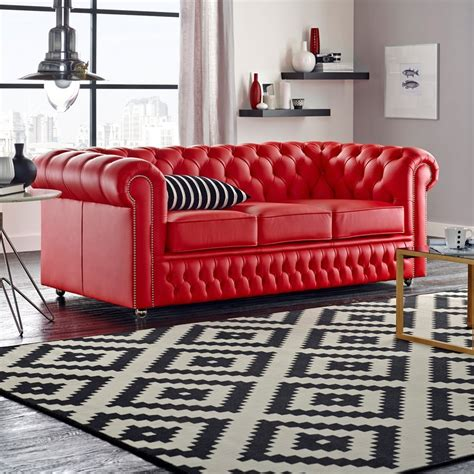 Buy A 2 Seater Chesterfield Sofa At Sofas By Saxon 2 Seater Chesterfield Sofa