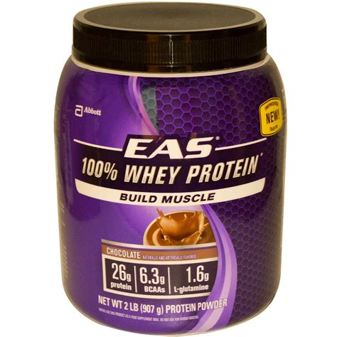 protein f 100 eas chocolate whey protein powder nutrition facts