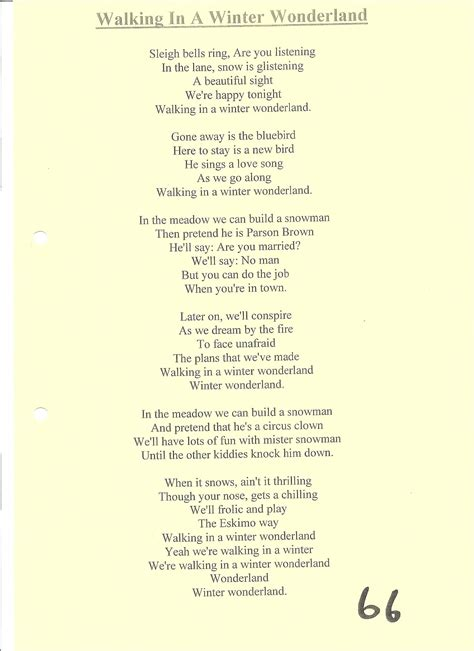 printable lyrics for walking in a winter wonderland christmas tracks forget me nots a choir to remember