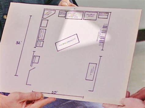 workshop layout plan the workshop triangle diy