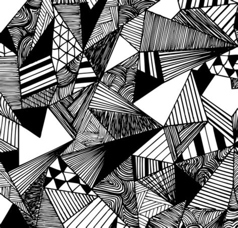 black and white zombie pattern monochrome pattern cards by rachel brooks via behance
