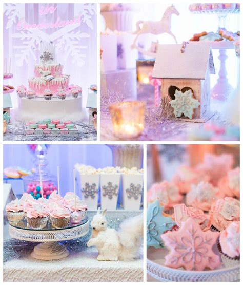 winter onederland birthday decorations kara s ideas pastel winter onederland themed