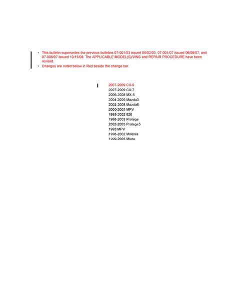 Service Evaporator Mazda 2 mazda workshop manuals gt 3 l4 2 3l 2004 gt heating and