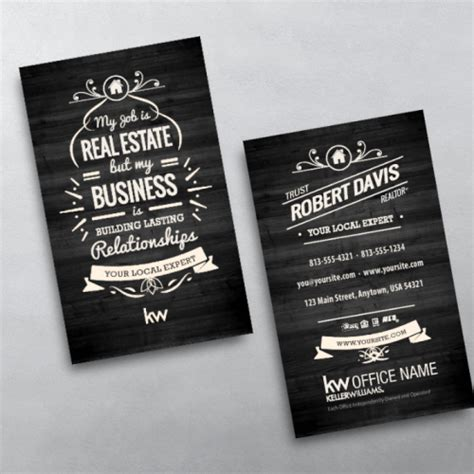 free keller williams business card templates keller williams business card templates free shipping