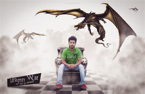 pattern photoshop war dragon war photoshop photo manipulation tutorials