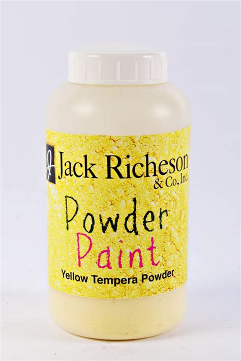 powder tempera paint yellow 053357 details rainbow resource center inc