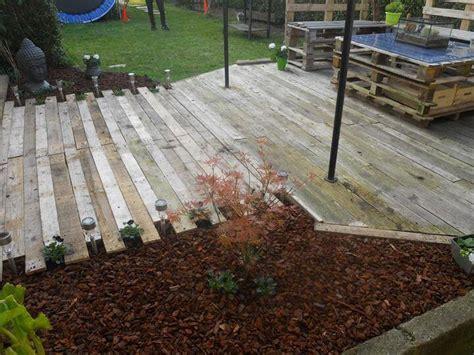 Diy Patio Floor by Diy Pallet Patio Furniture Pallet Deck