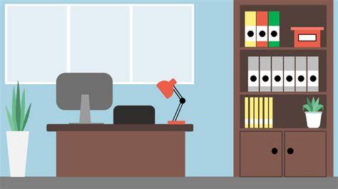 illustrations flat design sur le th 232 me du bureau articulate