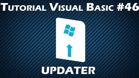 tutorial visual basic indonesia tutorial visual basic 46 updater youtube