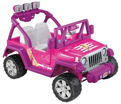 barbie jeep view larger