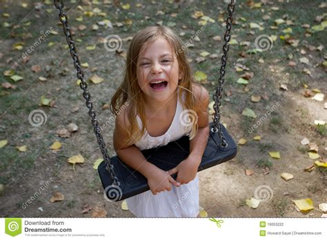girl swing girl leaning on swing stock photography image 16053222