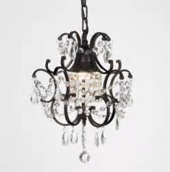 small black chandelier versailles 1 light black mini chandelier