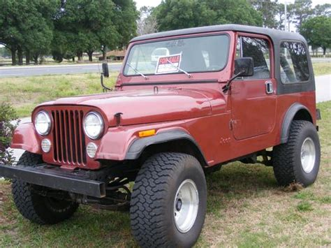Used Jeeps For Sale In Sell Used Jeep Cj7 4x4 350v8 Low New Trans In