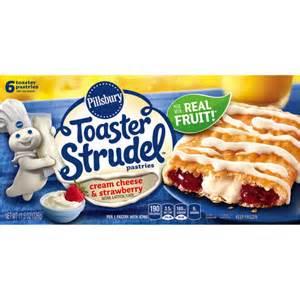 Pillsbury Toaster Strudel Strawberry Pillsbury Toaster Strudel Cream Cheese Amp Strawberry