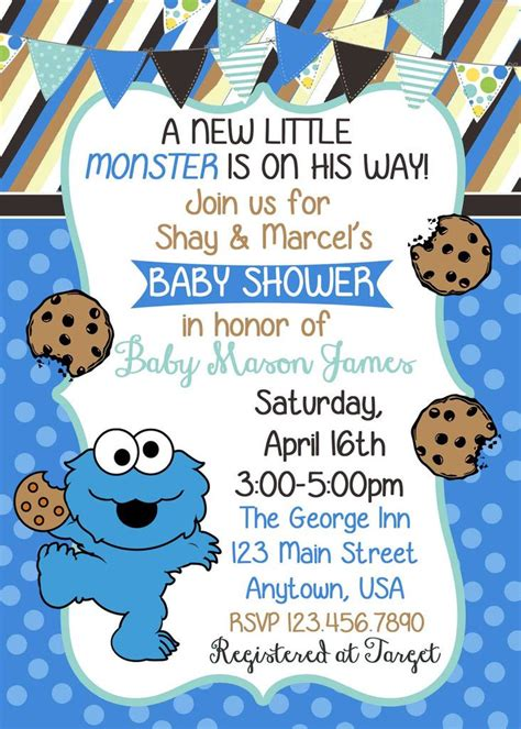 Cookie Baby Shower Invitations by 25 Best Ideas About Baby Showers On