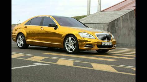 mercedes gold mercedes s500 gold