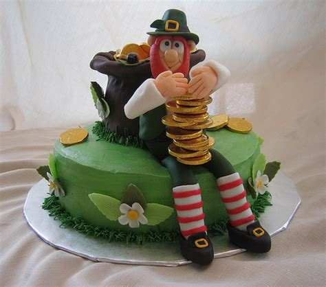 st cake leprechaun pot of gold cake for st s day png