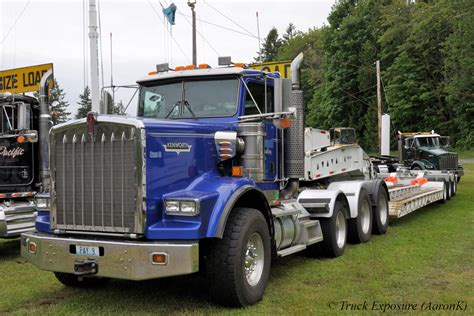 heavy haul kenworth trucks payload heavy hauling kenworth t800h deming logging show