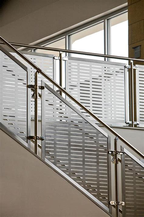 stainless steel banister handrail silhouette railing system with stainless steel guardrail