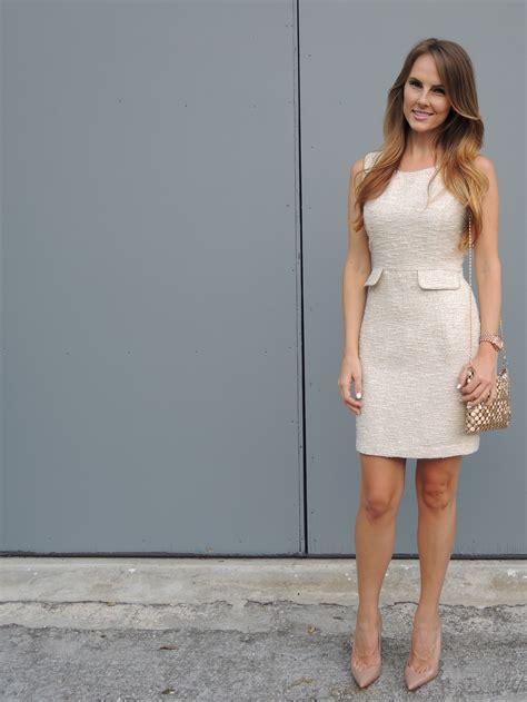Cream Tweed Dress » shikshin