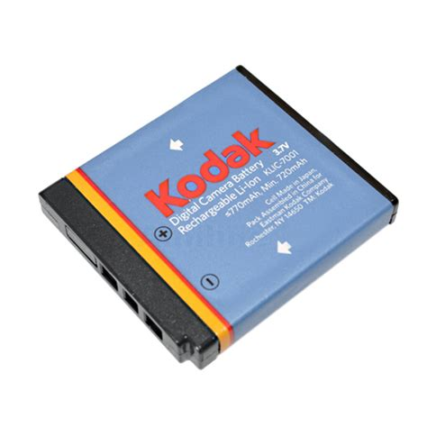Kodak Klic 7001 Hitam Charger kodak klic 7001 digital camcorder battery 2 52