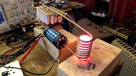 induction heating how to make h bridge driven induction heater