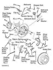 Toyota Corolla Brake System Diagram Parking Brake Diagram Toyota