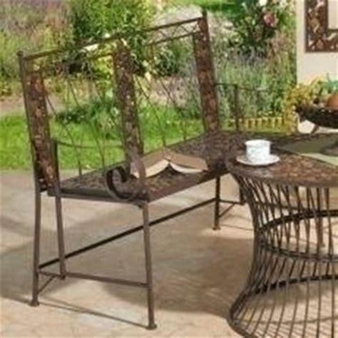 panchine da giardino in ferro mobili da esterno in ferro mobili giardino