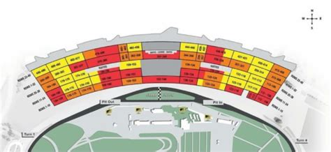 daytona speedway seating diagram 2019 daytona 500 packages daytona 500 nascar race tours