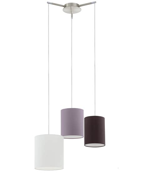 triple pendant ceiling light triple shade pendant from one ceiling rose