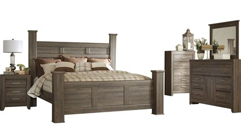 Furniture Juararo King Bedroom Set by Furniture Juararo 2pc Bedroom Set With King Poster