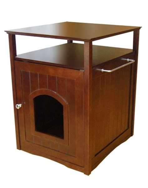 cat litter box washroom end table stand ebay