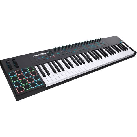 Keyboard Midi Usb alesis vi61 61 key usb midi keyboard controller vi61 b h photo