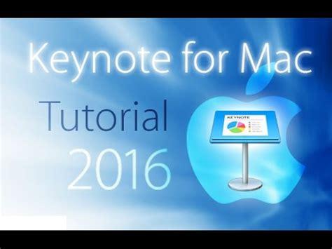 youtube tutorial keynote keynote 2016 tutorial for beginners general overview