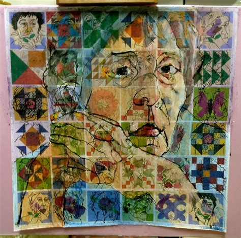 Portrait Quilts by Self Portrait Quilt Collage Stage 2 Jpg 800 215 792 Quilts