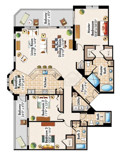 halifax landing condominium floor plans