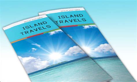 island brochure template psd brochure designs 2015 for free tidytemplates