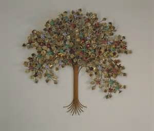 tree of metal wall metal wall sculpture