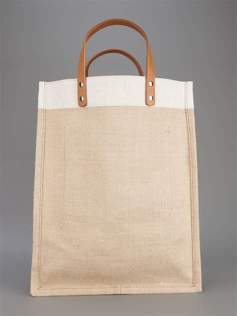 Ralph Blue Label Small Canvas Tote by Ralph Blue Label Canvas Shopper Tote In Lyst