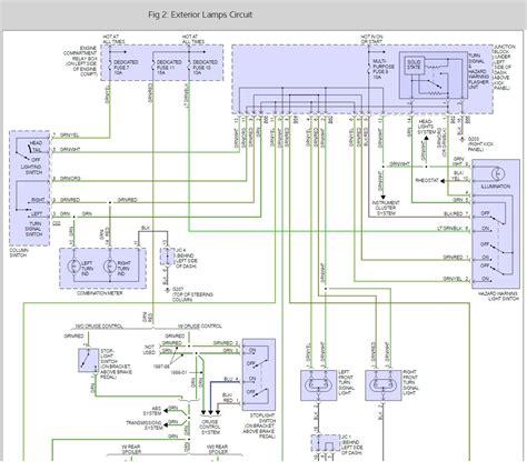 mitsubishi light wiring wiring diagram with description