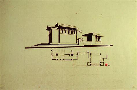 Frank Lloyd Wright Prairie Style House Plans frank lloyd wright heinrich klumb takehiko okami